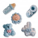 Baby Boy Icing Cake Decorations