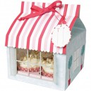 4 Cavity Patisserie Shop Box - Pack of 3