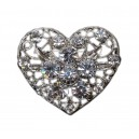 The 'Vintage Heart' Brooch