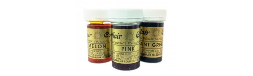 Edible Paste  & Gel Colours