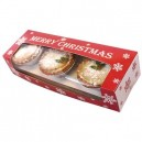 Mince Pie Box with Insert - Holds 6