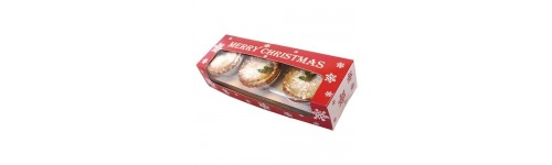 Mince Pie & Yule Log Boxes