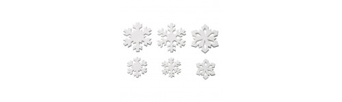 Sugar Snowflakes & Other Cake Toppers